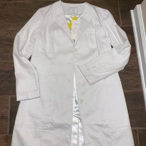 FIGS Classic Lab/Doctors Coat! NWT!! Size Small